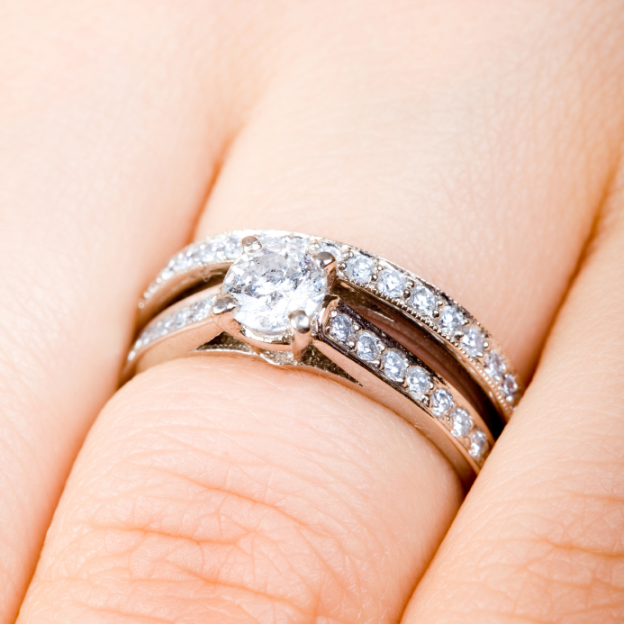 Amazing Wear Wedding Band Engagement Ring 693 x 693 · 497 kB · jpeg