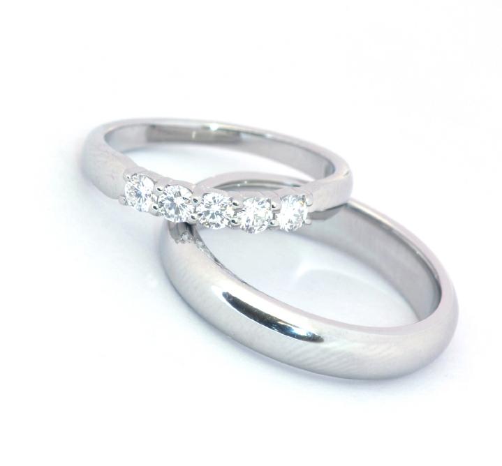 platinum ring set wedding rings pictures