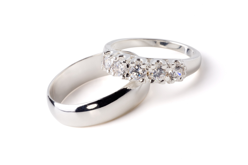 wedding rings on platinum diamond wedding ring set wedding rings - Platinum Wedding Ring Sets