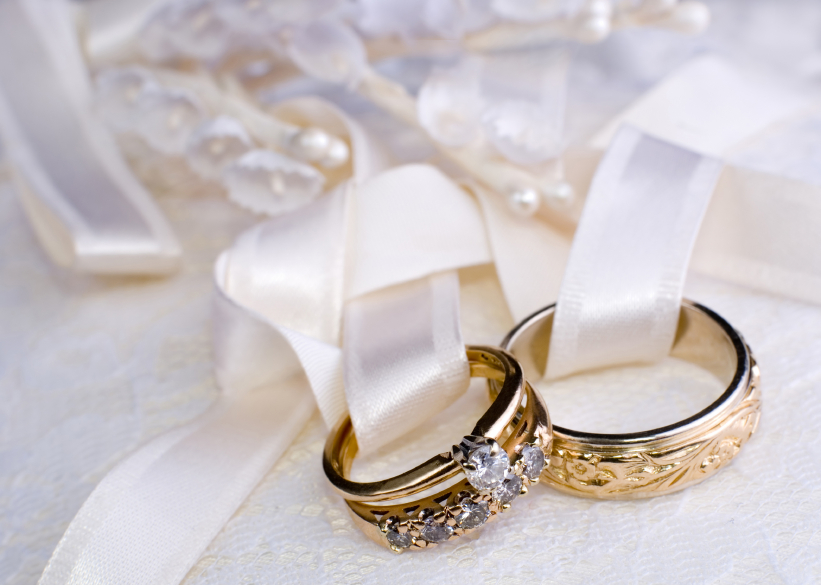 vintage design gold ring set Wedding Rings Pictures